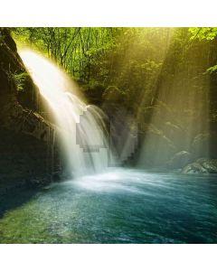 Clear Waterfall Digital Printed Photography Backdrop YHA-222