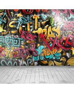 Cool Graffiti Digital Printed Photography Backdrop YHA-235