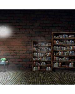 Silent Bookshelves Digital Printed Photography Backdrop YHA-266