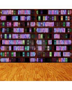 Colorful Books Digital Printed Photography Backdrop YHA-275