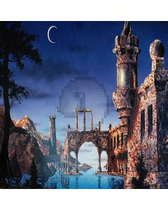 Castle In The Night Digital Printed Photography Backdrop YHA-282