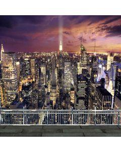 City Night Digital Printed Photography Backdrop YHA-283