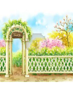 Happy Garden Digital Printed Photography Backdrop YHA-291