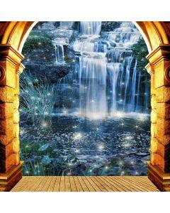 Nice Waterfall Digital Printed Photography Backdrop YHA-355