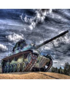 Powerful Tank Digital Printed Photography Backdrop YHA-362