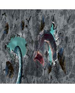Ferocious Snake Digital Printed Photography Backdrop YHA-370