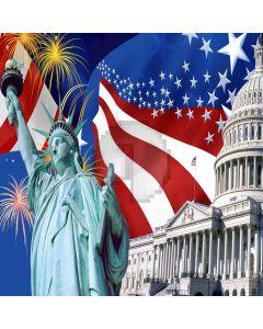 Statue Of Liberty Digital Printed Photography Backdrop YHA-385
