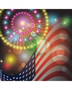 Beautiful Firework Digital Printed Photography Backdrop YHA-387