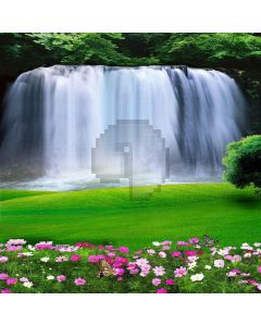 Flowing Waterfall Digital Printed Photography Backdrop YHA-430
