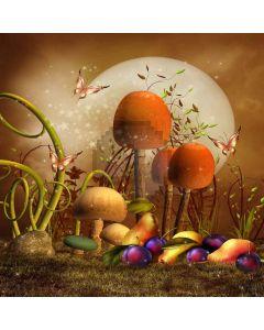 Lovely Mushrooms Digital Printed Photography Backdrop YHA-433