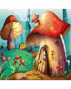 Mushroom Houses Digital Printed Photography Backdrop YHA-436