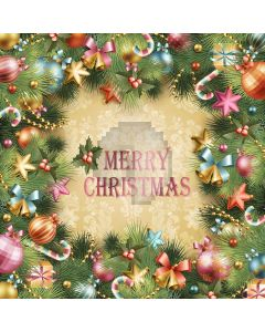 Christmas Decorations Digital Printed Photography Backdrop YHA-472