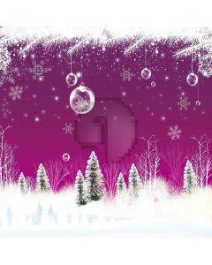 Snowy Trees Digital Printed Photography Backdrop YHA-487