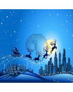 Flying Reindeers Digital Printed Photography Backdrop YHA-491