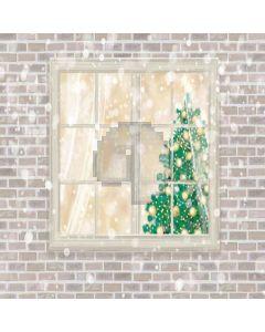 Christmas Tree Digital Printed Photography Backdrop YHA-505