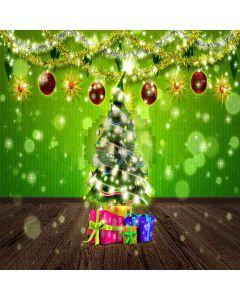 Sparkling Xmas Tree Digital Printed Photography Backdrop YHA-518