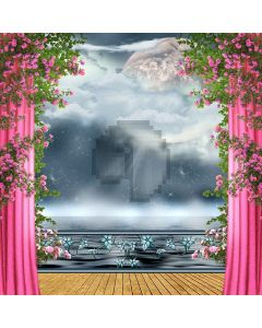 Outstanding  Stage Digital Printed Photography Backdrop YHB-047