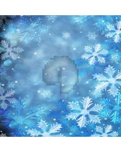 Crystal Snowflakes Digital Printed Photography Backdrop YHB-059