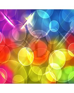 Colored Light Spot Digital Printed Photography Backdrop YHB-060