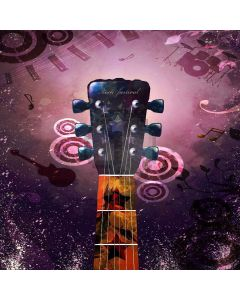 Wonderful Music Digital Printed Photography Backdrop YHB-110