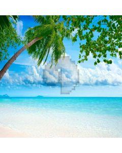 Comfortable Beach Digital Printed Photography Backdrop YHB-172