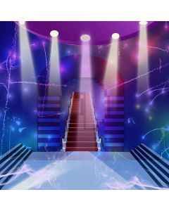 Palace Stage Digital Printed Photography Backdrop YHB-187