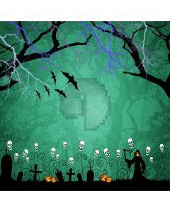 Terror Cemetery Digital Printed Photography Backdrop YHB-206
