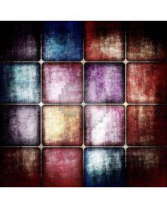 Gloomy Squares Digital Printed Photography Backdrop YHB-207