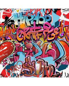 Graffiti Wall Digital Printed Photography Backdrop YHB-217