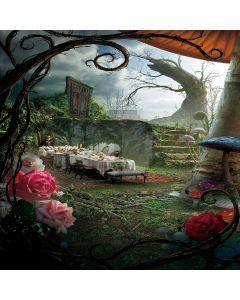 Adventures In Wonderland Digital Printed Photography Backdrop YHB-223