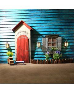 Lovely House Digital Printed Photography Backdrop YHB-226