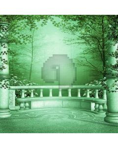 Mysterious Forest Digital Printed Photography Backdrop YHB-239