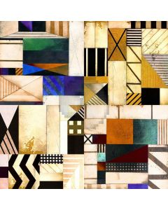 Geometric Shapes Digital Printed Photography Backdrop YHB-243