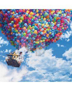 Colorful Balloons Digital Printed Photography Backdrop YHB-246
