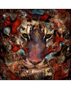 Mystery Tiger Digital Printed Photography Backdrop YHB-252