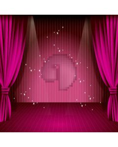 Simple Stage Digital Printed Photography Backdrop YHB-260
