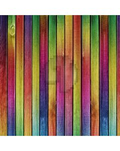 Colorful Plank Digital Printed Photography Backdrop YHB-264