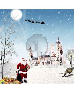 Merry Xmas Digital Printed Photography Backdrop YHB-266