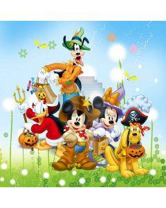 Cartoon Halloween Digital Printed Photography Backdrop YHB-268