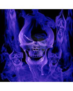 Ferocious Skull Digital Printed Photography Backdrop YHB-272