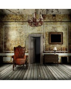 Dilapidated Room Digital Printed Photography Backdrop YHB-293
