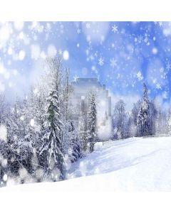 Beautiful Snowflakes Digital Printed Photography Backdrop YHB-299