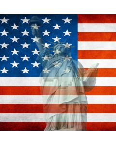 Statue of Liberty Computer Printed Photography Backdrop ZJZ-004