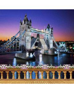 Tower Bridge Computer Printed Photography Backdrop ZJZ-076