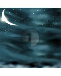 Fantasy moon stars night sky Computer Printed Photography Backdrop ZJZ-144