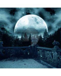 Moon Night Sky  Computer Printed Photography Backdrop ZJZ-779