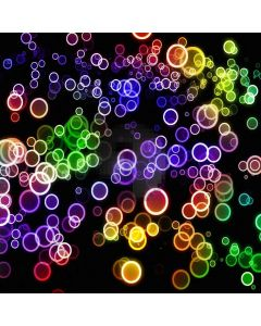 Colorful Bubbles In Dark Computer Printed Photography Backdrop ZJZ-815