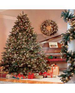 Shining Christmas Tree Computer Printed Photography Backdrop ZJZ-855
