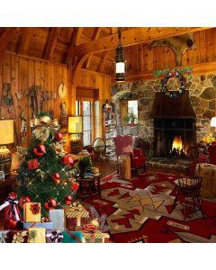 Beautiful Christmas Tree Computer Printed Photography Backdrop ZJZ-865