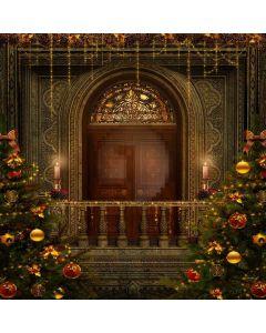 Shining Christmas Tree Computer Printed Photography Backdrop ZJZ-909